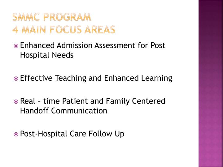 SMMC Program