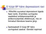 ii t pi bp h ire depressiooni ravi