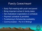 family commitment