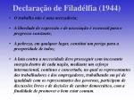declara o de filad lfia 1944
