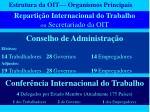 reparti o internacional do trabalho ou secretariado da oit