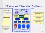 information integration systems