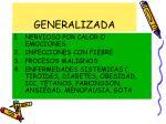 generalizada