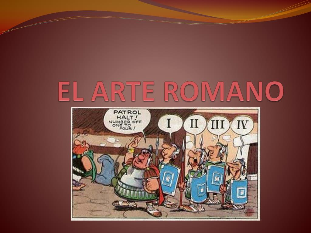el arte romano l.