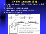 vntrs analysis