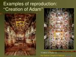 examples of reproduction creation of adam
