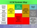 scm systems map