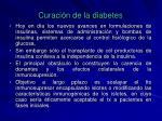 curaci n de la diabetes