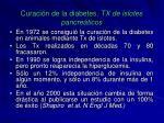 curaci n de la diabetes tx de islotes pancre ticos1