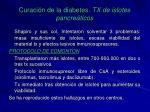 curaci n de la diabetes tx de islotes pancre ticos3