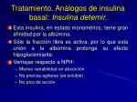 tratamiento an logos de insulina basal insulina detemir1