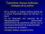 tratamiento nuevas mol culas an logos de la amilina3