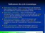 indicateurs du cycle conomique1