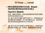 r trees contd