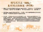 wal pitr