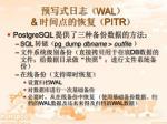 wal pitr1
