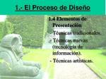 1 el proceso de dise o1