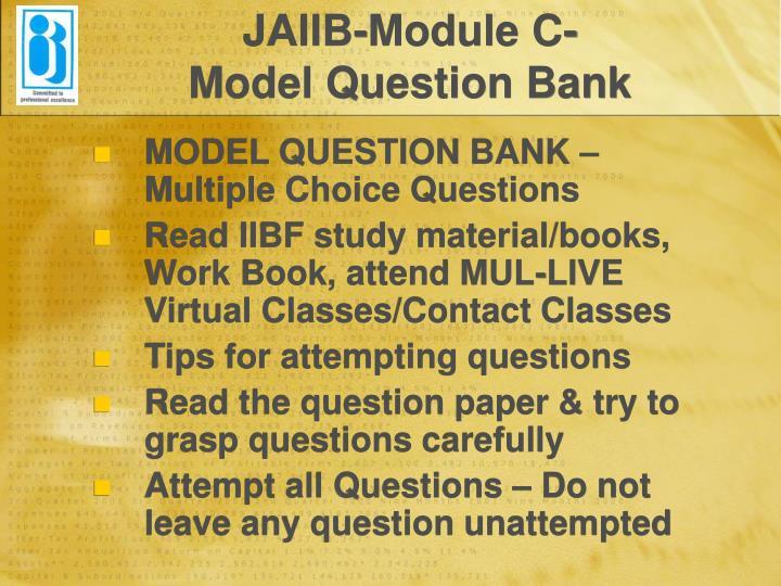 JAIIB-Module C-