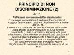 principio di non discriminazione 2