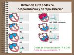 diferencia entre ondas de despolarizaci n y de repolarizaci n1