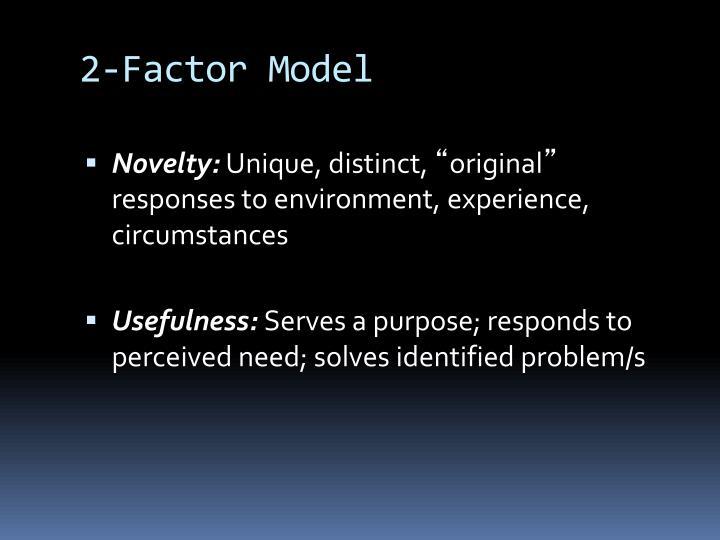 2-Factor Model