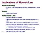 implications of moore s law