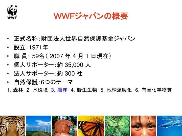 WWFジャパンの概要