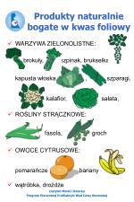 produkty naturalnie bogate w kwas foliowy