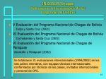 incosur chagas evaluaciones internacionales de los programas de control1