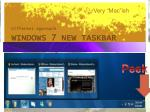 windows 7 new taskbar