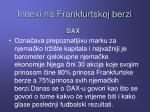 indexi na frankfurtskoj berzi1