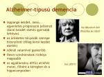 alzheimer t pus demencia