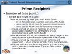 prime recipient11
