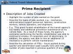 prime recipient13