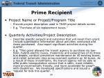 prime recipient6