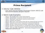 prime recipient8