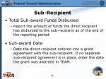 sub recipient2