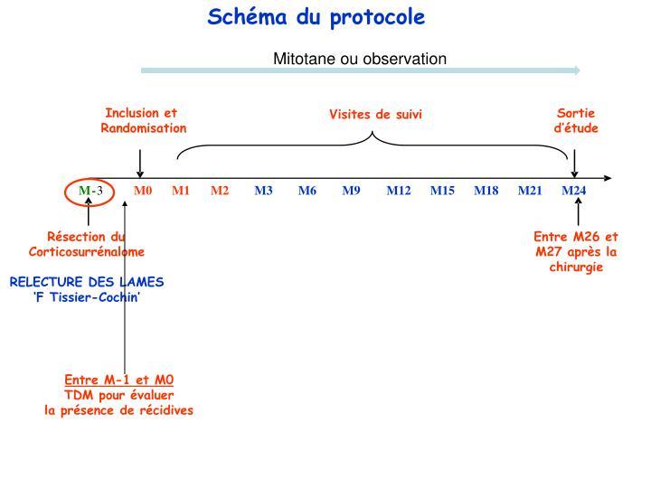 Schéma du protocole
