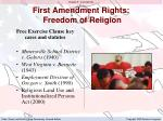 first amendment rights freedom of religion4