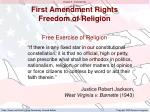first amendment rights freedom of religion5