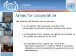 areas for cooperation1