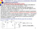 esperienza n 6 carica e scarica di un condensatore misura della capacit di un condensatore7