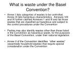 what is waste under the basel convention