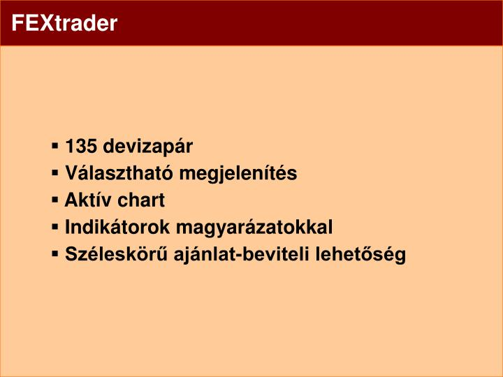 FEXtrader