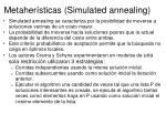 metaher sticas simulated annealing