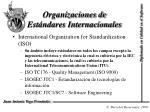 organizaciones de est ndares internacionales1