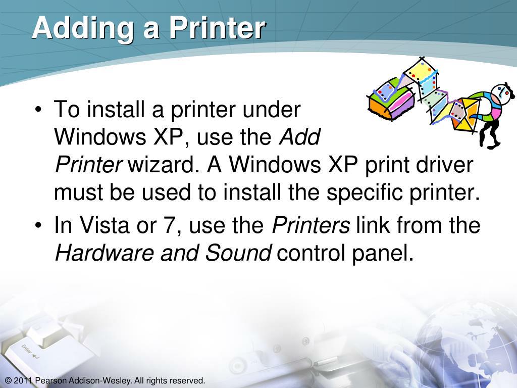Adding a Printer