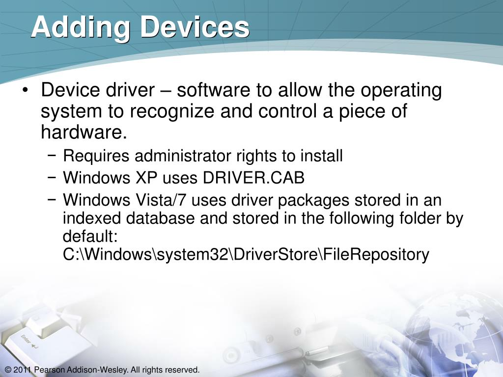 Adding Devices