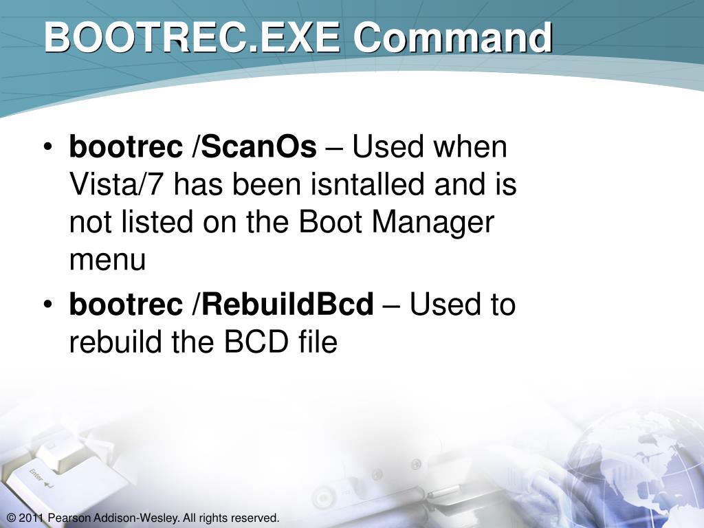 BOOTREC.EXE Command