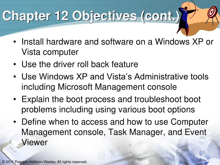 Chapter 12 objectives cont
